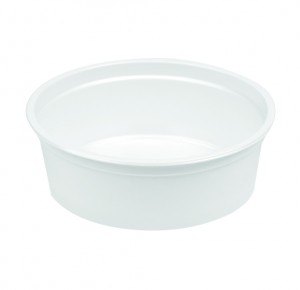 PS ROUND CONTAINER 250 ML 116 DIA