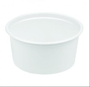 PS ROUND CONTAINER 350 ML 116 DIA