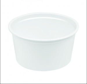 PS ROUND CONTAINER 400 ML 116 DIA